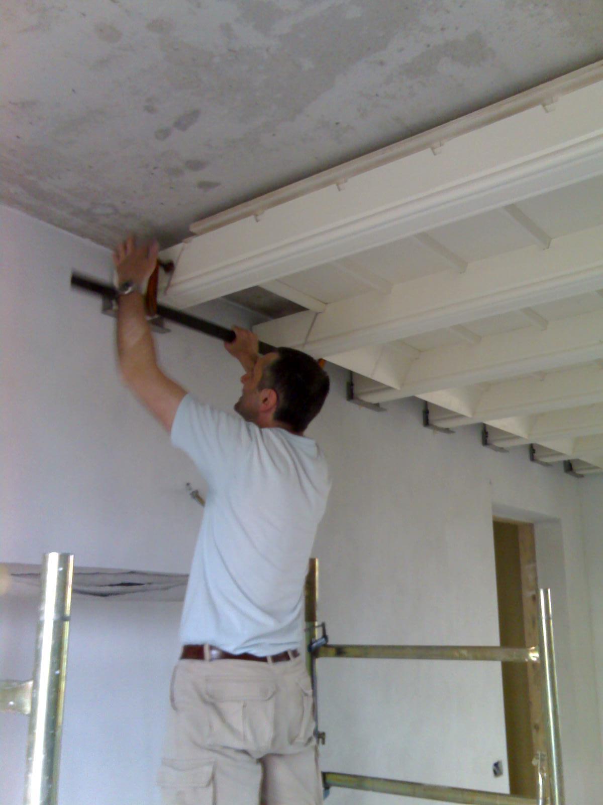 Come fare un controsoffitto in legno for Controsoffitto in legno